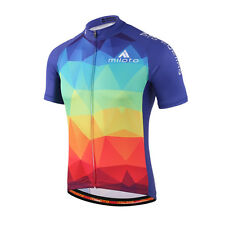 Mountain Bike Jerseys Colorful Cycling Shirt Coolmax Team Cycling Jersey S-5XL