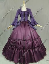 Victorian Civil War Lolita Steampunk Dress Gown Theater Reenactment Clothing 173