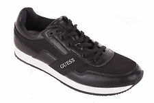 GUESS Men's Lace-up Shoes Sneaker Black Size 45 #619