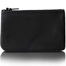 Small Zippered Coin Pouch For Men/Woman made with Genuine Leather, Coin Purse