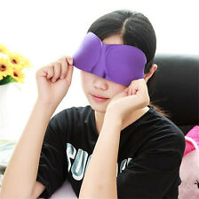 New Soft Fashion 3D Sleep Shade Sleep Breathable Goggles Sleep Nap Sleep Masks