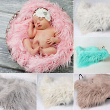 Newborn Baby Soft Photography Photo Prop Infant Backdrop Throw Blanket Rug