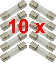 10 X FUSES 5 x 20mm F15A Quick Blow Glass Fuse 250V (PACK OF 10 FUSES) 787.272