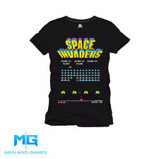 Space Invaders Arcade Video Game Retro T-Shirt - Officially Licensed Product