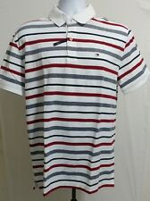 Mens TOMMY HILFIGER Short Sleeve Slim Fit Polo Shirt Size M / L / XL NWT