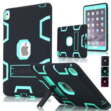 Shockproof Heavy Duty Rubber With Hard Stand Case Cover For iPad Air 2/ iPad Air