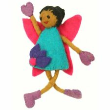 Fair Trade Hand Felted TOOTH FAIRY PILLOW Girl's Toy Keepsake Pretend Play GIft