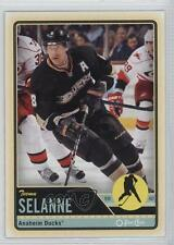2012 O-Pee-Chee #94 Teemu Selanne Anaheim Ducks (Mighty of Anaheim) Hockey Card
