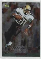 1995 Classic NFL Draft Silver 4 Michael Westbrook Colorado Buffaloes Rookie Card