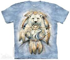 SPIRIT BEAR ADULT T-SHIRT THE MOUNTAIN NATIVE AMERICAN