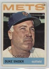 1964 Topps #155 Duke Snider New York Mets Baseball Card
