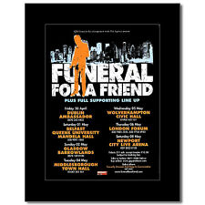 FUNERAL FOR A FRIEND - UK Tour 2004 Mini Poster