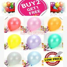 20 Metallic Latex pearl Balloons 25-100 qty Helium High Quality, balloon ribbons