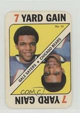 1971 Topps Game Cards #10 Gale Sayers Chicago Bears Football Card