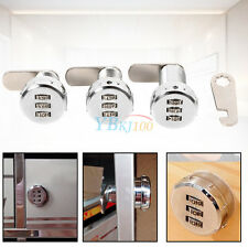 Practical Digital Code Combination Lock For Post Mail Box Cabinet Drawers Silver