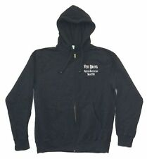 Neil Young North American Tour 2008 Black Zip Up Sweatshirt Hoodie New Official