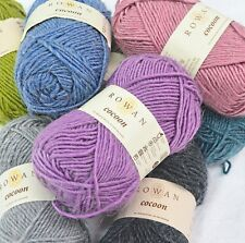 Clearance - Rowan Cocoon Knitting Yarn - 100g - Merino/Kid Mohair Mix Free P&P