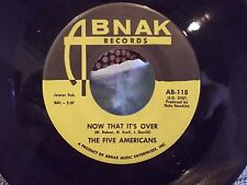 45% THE FIVE AMERICANS NOW THAT ITS OVER / WESTERN UNION YELLOW LABEL ABNAK