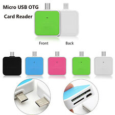 2 in1 Micro USB OTG Adapter Connection Card Reader Support SD TF Card For Phones