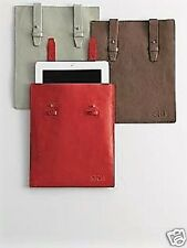 Genuine Leather Tablet Ipad Protective Sleeve Bag Case Red Envelope Gift  NEW