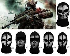 Hot Cotton Balaclava Face Skull Ghost Mask Army Military Face Mask Call of Duty