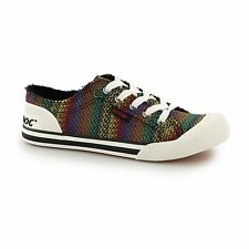 Rocket Dog JAZZIN-ZANE Ladies Womens Lace Up Casual Trainers Shoes Multicoloured