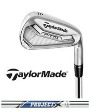 New Taylormade Golf P 770 Irons 2017 P770 Iron Set True Temper Project X