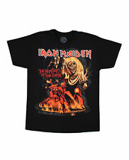 Men's OFFICIAL Iron Maiden Band T-Shirt Number of the Beast Album Art S-2X