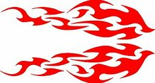 "Tribal Flames Car Truck Vehicle Graphics Vinyl Decals 42"" x 11"" Multiple colors"