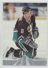 1996 Pinnacle Premium Stock #155 Teemu Selanne Anaheim Ducks (Mighty of Anaheim)