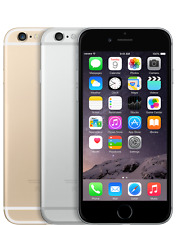 Apple iPhone 6 16GB 64GB Factory Unlocked Smartphone Grey Gold Perfect Condition