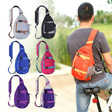 Outdoor Sport Casual Shoulder Bag 8L Nylon Messenger Bag Crossbody Sling Pack