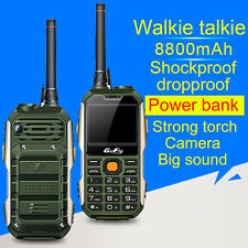 GOFLY M8800 Dual SIM UHF Walkie Talkie Wireless Bluetooth Rugged Mobile Phone