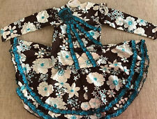 NWT Tralala Winter Paradise girl Swing Set skirt top 2 3 4 5Y 6Y Made in USA A12