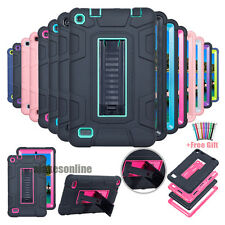 Hybrid Heavy Duty Kickstand Hard Case Cover For Amazon Kindle Fire 7 2015 5th
