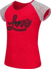 Youth NCSU NC State Wolfpack Girls Love Lace Sleeve Tee