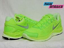 Nike Lunarglide+ 4 Mens 524977-707 Sz 9.5 Lime Green Running shoes