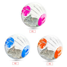 12cm Plastic Small Pet Hamster Gerbil Toy Running Activity Exercise Ball Hot DH