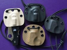 Kydex Neck/Pack Sheath for Spyderco Rescue 3 - Choose from 4