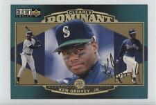 1997 Upper Deck Collector's Choice Clearly Dominant Jumbo CD2 Ken Griffey Jr Jr.
