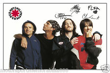 RED HOT CHILLI PEPPERS SIGNED 6x4 PHOTO PRINT AUTOGRAPH MUSIC ROCK