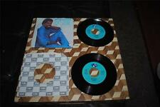 "Billy Ocean 2 Record Pair Love Zone Love is Forever 45 RPM 7"" Vintage 1984 1986"