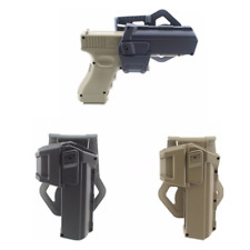Tactical Movable Right Hand Gun Pistol Holsters with Flashlight for Glock Series