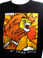 The Lion King Men's T-shirt (XL) MEANWHILE AT PRIDE ROCK -COMIC Disney #9333