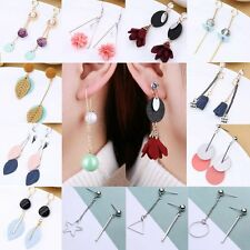 1Pair Women Fashion Gold/Silver Plated Drop Dangle Earrings Jewelry Party Gift