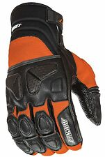 Joe Rocket Men's Orange / Black Atomic X Motorcycle Glove