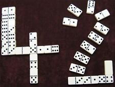 dominoes Double Six Ivory/Spinner OVERSIZE Free Ship PLAY 42 D6 Set Free Ship PR