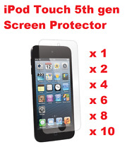 GENUINE IPOD TOUCH 5/6TH GEN LCD SCREEN PROTECTOR ANTI SCRATCH / ABRASION