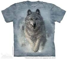 """WOLF """"SNOW PLOW"""" CHILD T-SHIRT THE MOUNTAIN"""