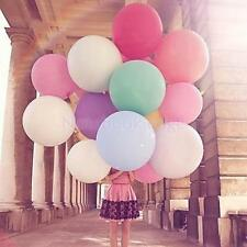 10 Pcs Colorful Latex Balloon Celebration Party Wedding Birthday Decor 36 inch
